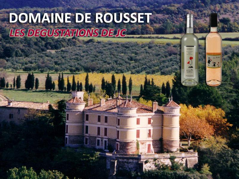 Vidéo : Les dégustations de JC :  Domaine de Rousset - Vermentino et les Bambines