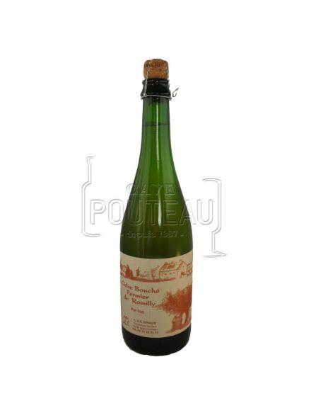 Cidre brut fermier - vergers de romilly - normandie