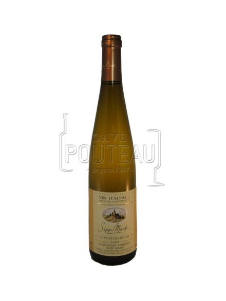 GEWURZTRAMINER VENDANGES TARDIVES 2015 - 50CL - SIPP MACK