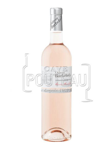 Chateau barbebelle rosé 2020 - coteaux d'aix en provence
