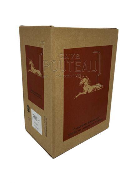 BAG IN BOX 5 LITRES - CHATEAU SAINCRIT 2019 - BORDEAUX SUPÉRIEUR