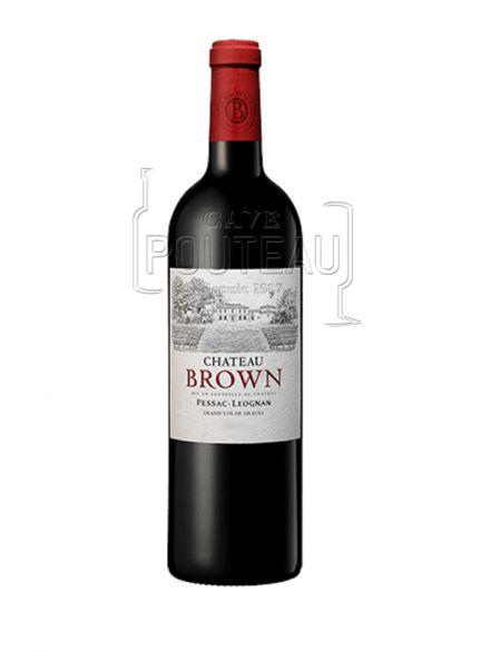 Chateau brown rouge 2018 - pessac léognan