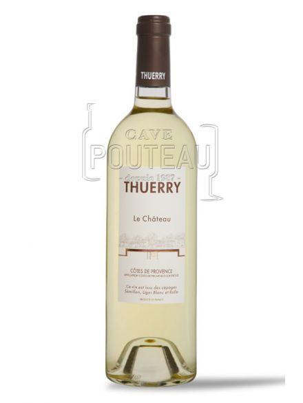 Chateau thuerry cuvée blanc 2019 - côtes de provence