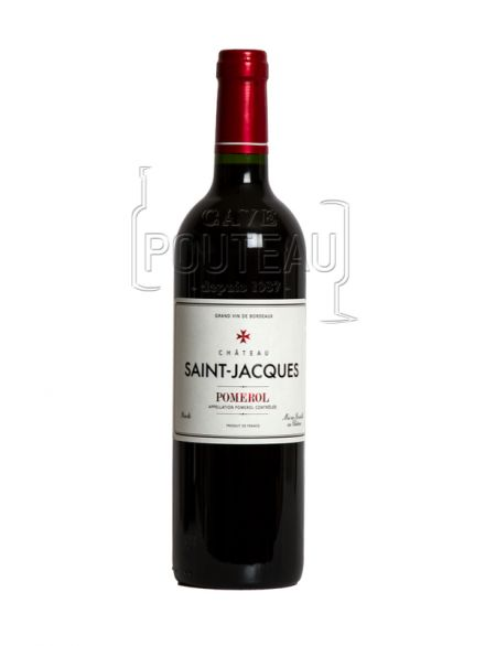 Chateau saint jacques 2016 - pomerol
