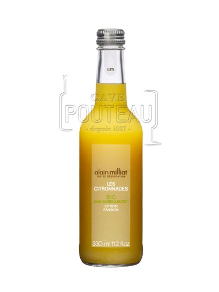 CITRONNADE CITRON-PASSION BIO - 33 CL - ALAIN MILLIAT