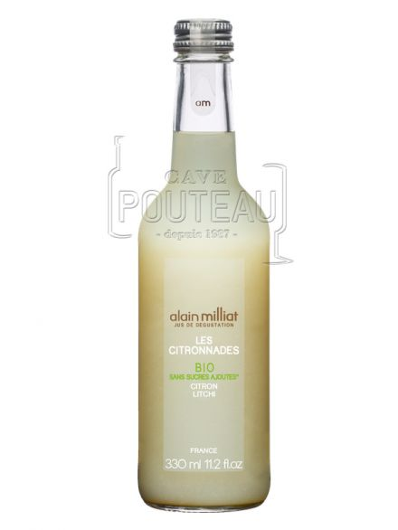 CITRONNADE CITRON-LITCHI - 33 CL - ALAIN MILLIAT