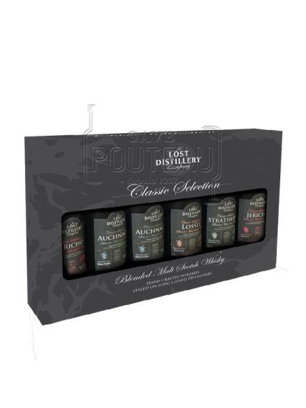 COFFRET DECOUVERTE THE LOST DISTILLERY - 6 MINIATURES 5 CL