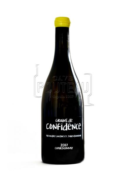 Grains de confidence blanc 2017 - vins d'estuaire