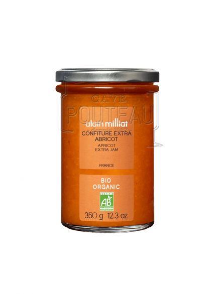 Confiture extra bio abricot - 350 gr - alain milliat