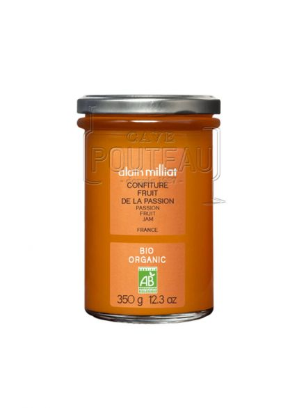 CONFITURE EXTRA BIO PASSION - 350 GR - ALAIN MILLIAT