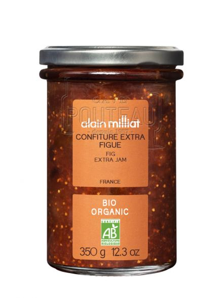 CONFITURE EXTRA BIO FIGUE - 350 GR - ALAIN MILLIAT