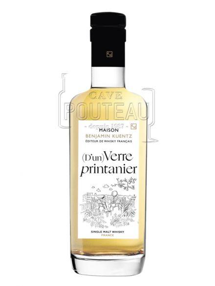 Whisky francais - d'un verre printanier - 50 cl - 46% -  benjamin kuentz