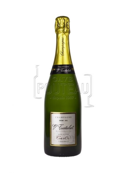 Champagne testulat demi-sec