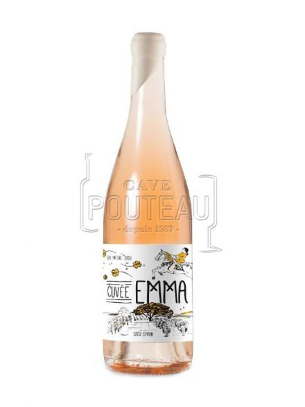 Emma rose 2018 - vin nature - igp charentais