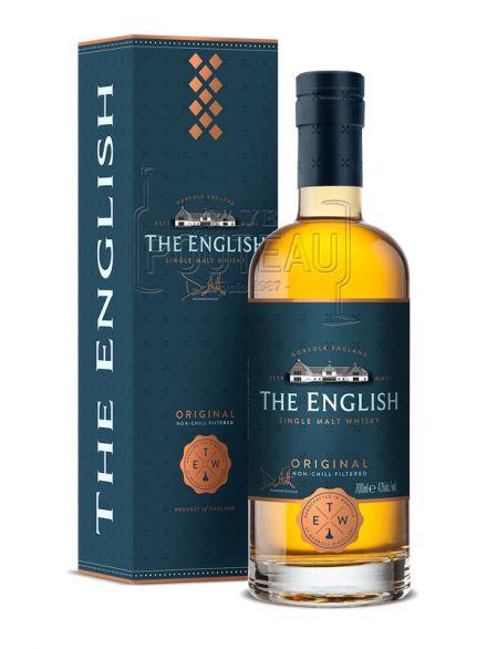 Whiksy the english - original - single malt - 70 cl - 43%