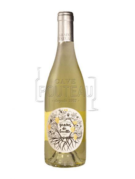 Grains de cocotte blanc 2019 - vins d'estuaire - igp charentais