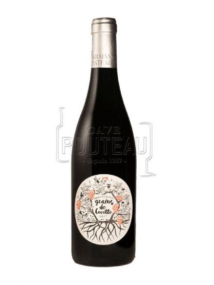 Grains de cocotte rouge 2018 - vins d'estuaire - igp charentais