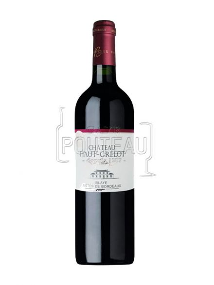 CHATEAU HAUT GRELOT ROUGE SELECTION 2018 - BLAYE COTES DE BORDEAUX