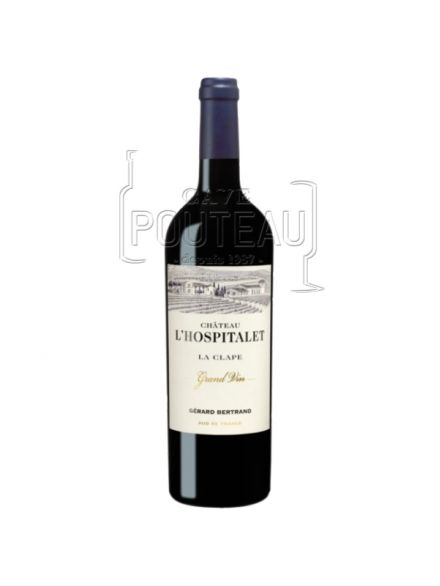 Chateau l'hospitalet rouge 2018 - grand vin