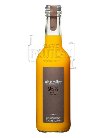Nectar mangue - 33 cl et 100 cl - alain milliat