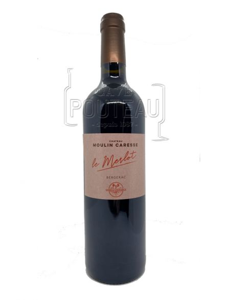MERLOT 2019 - BERGERAC - MOULIN CARESSE