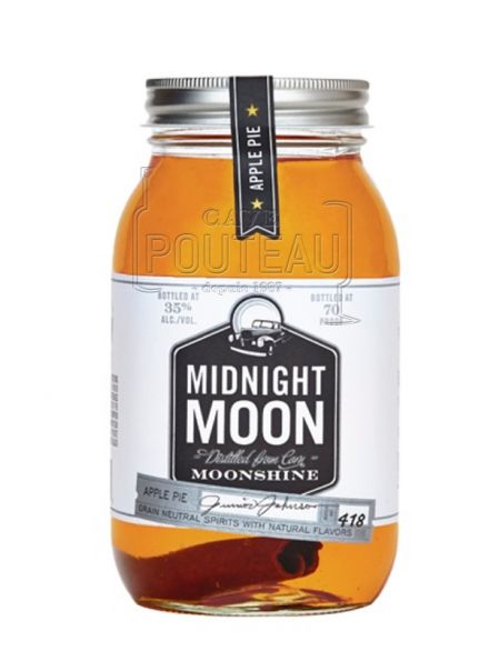 MIDNIGHT MOON APPLE PIE MOONSHINE - 35 CL - 40%