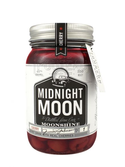 Midnight moon cherry moonshine - 35 cl - 40%