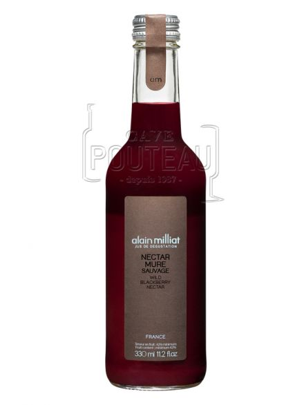 Nectar mure sauvage - 33 cl - alain milliat