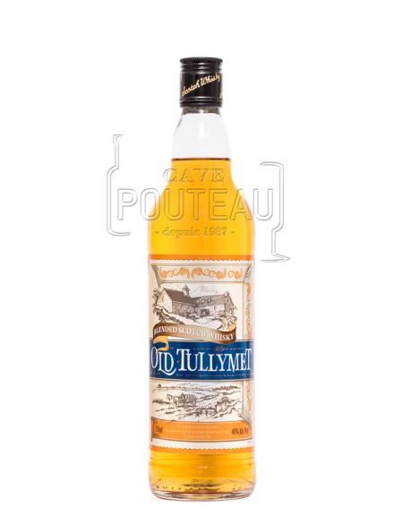 Old tullymet - blended scotch whisky - 70cl - 40%