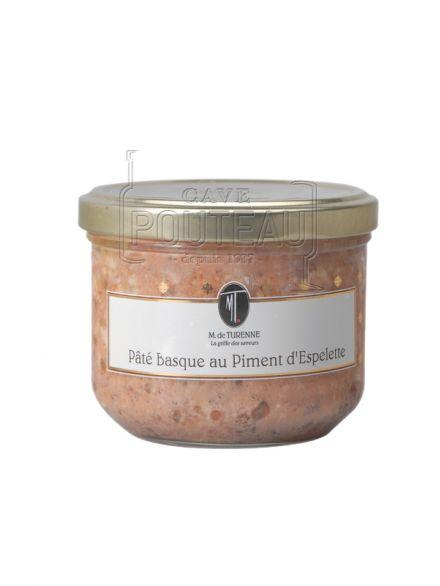 Pate basque au piment d'espelette - 180 gr