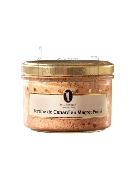 TERRINE DE CANARD AU MAGRET FUMÉ - 180 GR