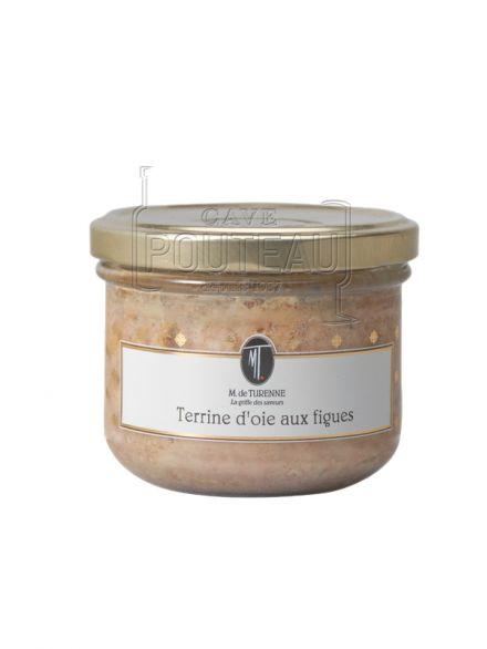 Terrine d'oie aux figues - 180 gr