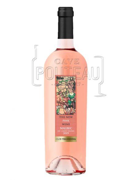The new pink wine malbec rosé 2019 - clos triguedina - jean luc baldes