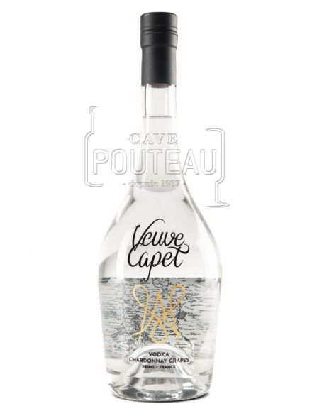 VODKA VEUVE CAPET - 70 CL - 38%