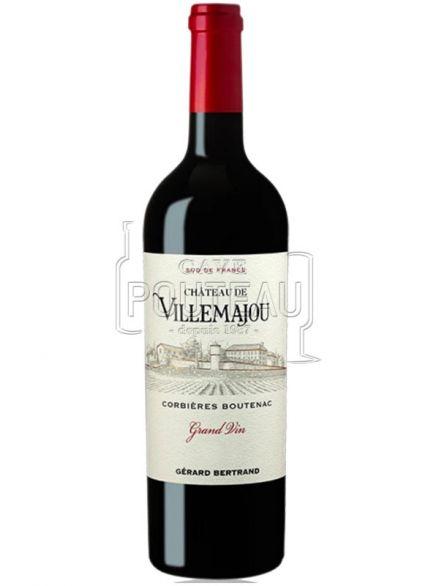 Corbieres boutenac - villemajou rouge 2015 grand vin - gerard bertrand